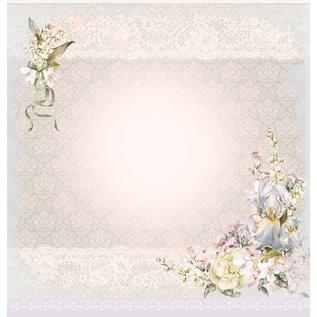 LaBlanche Designpapier, romantiek, bruiloft, 30,5 x 30,5 cm, aan beide zijden bedrukt