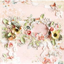 Designer Papier Scrapbooking: 30,5 x 30,5 cm Papier Kaart- en plakboekblok, 30,5 x 30,5 cm