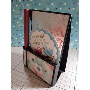 Craft set: pen and note holder, basecard, without decorations