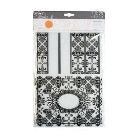Tonic Studio´s Carpeta de estampado A4, carpeta de estampado para diseñar relieve 3D en papel.