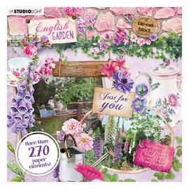 Studio Light Studio Light, 270 embellissements en papier, thème jardin!