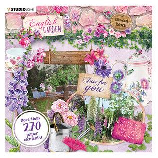 Studio Light Studio Light, 270 abbellimenti di carta, tema del giardino!