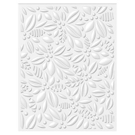 Tonic Studio´s Embossing folder, 14.5 x 19cm, embossing folder for designing 3D relief on paper!