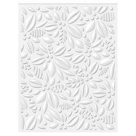 Tonic Studio´s Prägefolder,  14.5 x 19cm, Embossingsfolder zur Gestaltung von 3D Relief auf Papier!
