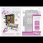 Tonic Studio´s Snijmallen / Snijsjablonen, 13 stuks! Om mooie filigraan albums en covers te ontwerpen, 2805E