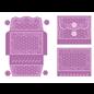 Tonic Studio´s Stanzschablonen SET, 13 Stück! Zur Gestaltung von hübsche filigrane Alben,  2805E