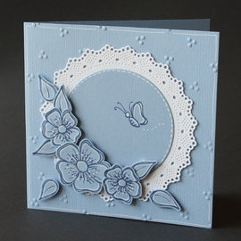 Marianne Design Stansning skabelon, Stansemal, Marianne Design, Shaker Doily, CR1474