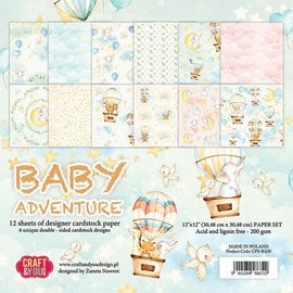 Karten und Scrapbooking Papier, Papier blöcke Papel de diseño, 30,5 x 30,5 cm, bebé,