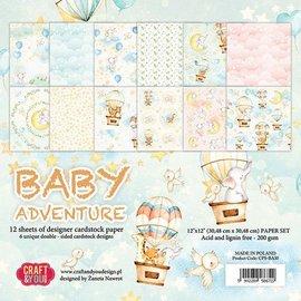Karten und Scrapbooking Papier, Papier blöcke Papier design, 30,5 x 30,5 cm, bébé,