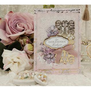 LaBlanche Designpapier, romantisch, bruiloft, 30,5 x 30,5 cm, aan beide zijden bedrukt