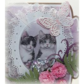 Marianne Design Billedark, A4, Matties smukkeste baby dyr