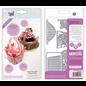 Tonic Studio´s Snijmallen / Snijsjablonen, 17 delen! Tonic Studios, 2710E decoraties, basisaccessoires, mand, 2709E