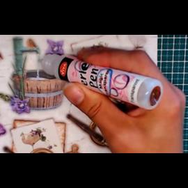FARBE / MEDIA FLUID / MIXED MEDIA Perlen-Pen Magic Transparent, 28 ml