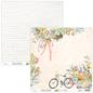 Designer Papier Scrapbooking: 30,5 x 30,5 cm Papier Mintay, designer papier, 250gr / m², 12 vellen, dubbelzijdig afdrukken, Bloomville