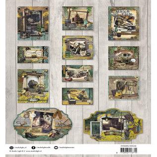 Studio Light Ponsenblok, A4, 170 g / m², 12 pagina's, industrieel 3.0 no.89