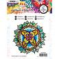 STEMPEL / STAMP: GUMMI / RUBBER Timbro di gomma, timbro, arte di Marlene 5.0 n. 45