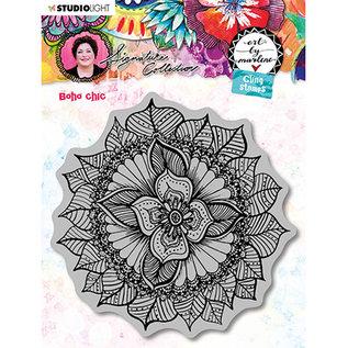 STEMPEL / STAMP: GUMMI / RUBBER Rubberen stempel, Cling Stamp, Art By Marlene 5.0 no.45