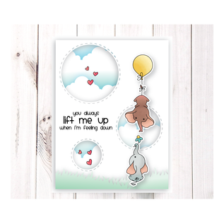 NEW! Stamp set with 10 motifs! LDRS Creative Up and Away