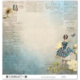 """LaBlanche Designpapier """"Vintage""""01"""