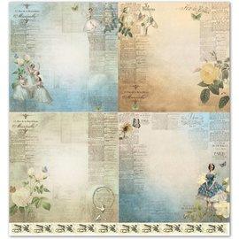 "LaBlanche Ontwerpers papier ""vintage"" 01"