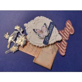 Modellieren Modelliermasse, große Packung 500 gr, Do & Dry, weiss. Erstellen Sie Ihre eigene Embellishments, für viele diverse Projekte!