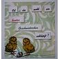 Craftemotions Motiefstempel, A6, schattige kuiken 10 motieven