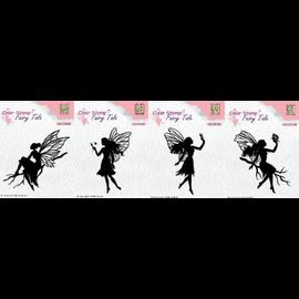 Nellie Snellen Nellie Snellen, transparent stamp, 4 fairies to choose from
