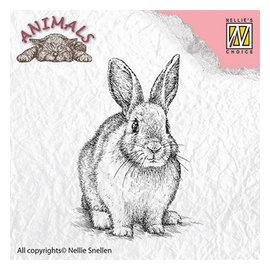 Nellie Snellen, postzegelmotief: konijn