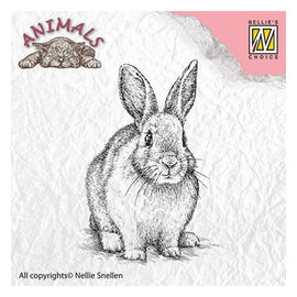 Nellie Snellen, stamp motif: rabbit