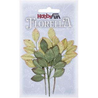 Stamperia und Florella 3 branches de papier mûrier, environ 10cm.