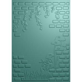 Crafter's Companion Crafter's Companion, Fairy Garden, 3D Embossing Folder: Nature Garden