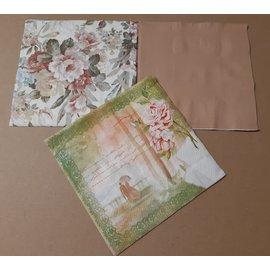 DECOUPAGE AND ACCESSOIRES 6 serviettes design, découpage
