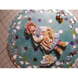 """Bilder, 3D Bilder und ausgestanzte Teile usw... Découpe 3D: Christine Haworth Designs, """"Faerie Poppets, Engel"""", 3 motifs"""