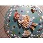 """Bilder, 3D Bilder und ausgestanzte Teile usw... 3D die cut: Christine Haworth Designs, """"Faerie Poppets, Engel"""", 3 motiver"""