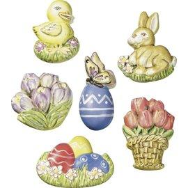 Modellieren Casting mold, Easter motifs, 6 x 4.5 cm