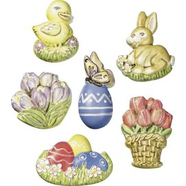 Modellieren Moule à couler, motifs de Pâques, 6 x 4,5 cm