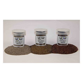 FARBE / STEMPELKISSEN Wow! Trio sets - metallic embossing powder