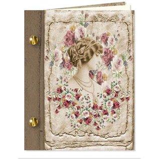 Set di artigianato, carte libro vintage, 6 pezzi!