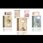 Craft set, vintage book cards, 6 pieces!