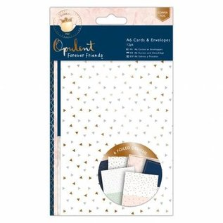 Forever Friends Forever Friends, Cosy Christmas, A4 Paper Pack + 12 Foiled Cards + 12 Envelopes