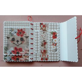 Karten und Scrapbooking Papier, Papier blöcke NUOVO! Blocco di carta, A4, 120 gsm, 40 fogli, collezione Happy Days
