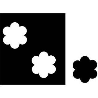Locher / Stanzer / Punch NIEUW! Flower punch - roestvrij staal met zachte grip. Pons papier en karton tot 180 g. Afmeting gat 5 mm