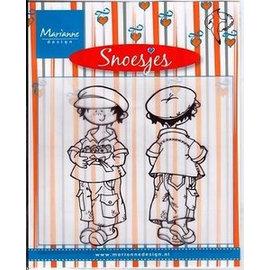 Stempel / Stamp: Transparent Clear stamps, Snoesjes, Get wel soon