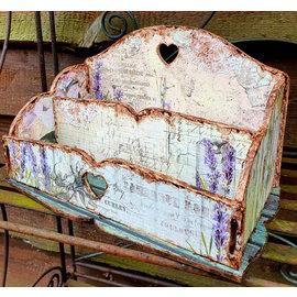 BASTELSETS / CRAFT KITS NYHED! MDF Organizer - Værktøjskasse, 16,4x27,4 cm