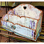 BASTELSETS / CRAFT KITS NEU! MDF Organiser - Toolbox, 16.4x27.4cm