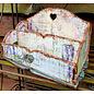 BASTELSETS / CRAFT KITS NIEUW! MDF Organizer - Gereedschapskist, 16,4x27,4cm