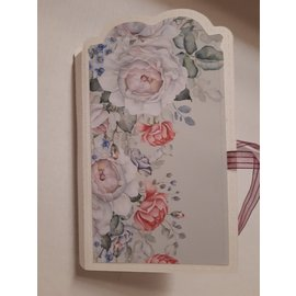 """Karten und Scrapbooking Papier, Papier blöcke NEW! Paper block, 20.5 x 20.5cm, from the """"Walled Garden"""" collection! For design on cards, scrapbooking, collage, decoupage and much more"""
