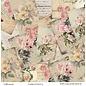 LaBlanche Designerpapier, 30,5 x 30,05 cm, doppelseitig bedruckt, Vintage