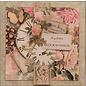 LaBlanche Carta di design, 30,5 x 30,05 cm, stampata su entrambi i lati, collage di fiori