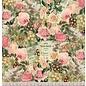 LaBlanche Designerpapier, 30,5 x 30,05 cm, doppelseitig bedruckt, Blumenkollage